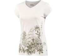 'Meadow' T-Shirt Damen weiß