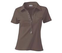 Polo-Shirt schlammfarben
