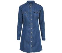 Jeanshemd-Kleid blue denim