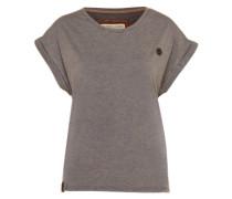 Oversized T-Shirt grau