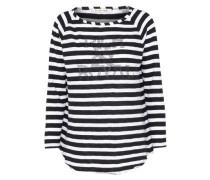 Longsleeve 'Heavy Jersey' schwarz / weiß