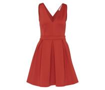 Ausgestelltes Skater Kleid rot