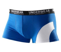 Packung: Boxer Authentic Underwear (4 Stck.) blau / rot