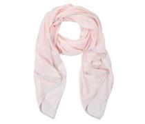 Schal mit Allover-Muster pink