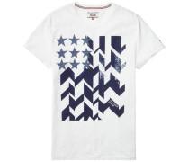 T-Shirt ´thdm CN T-Shirt S/S 19´ blau / weiß