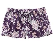 Shorts in lässiger Weite lila