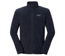 Fleecejacke 'midnight Moon Men' navy