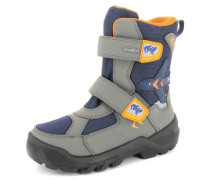 Stiefel Synthetik blau