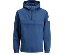 Trendige Jacke blau
