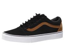 Sneaker 'old Skool' braun / schwarz / weiß