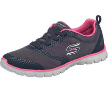 Sneakers 'Ez Flex 3.0 Ready-To-Roll' navy / pink / weiß