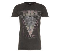 Shirt 'RN Kiss Tee' schwarz
