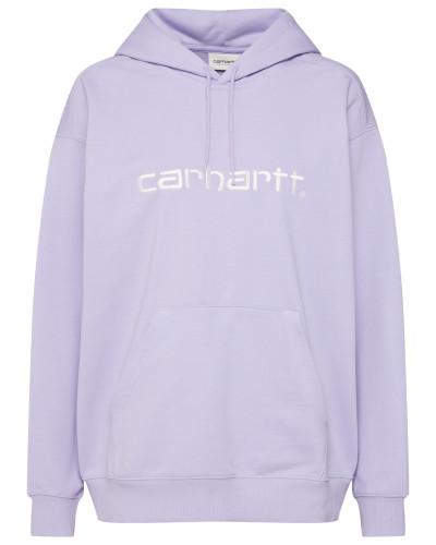 Sweatshirt lavendel / weiß