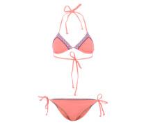 Bikini im Triangel-Look pink