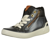 Sneaker beige / grau / schwarz