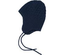 Woll-Hut 'nitmilk' blau