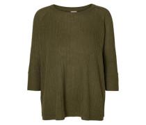 Pullover mit 3/4 Ärmeln khaki