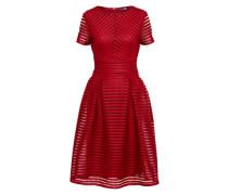 Kleid 'Zaira Boutique' burgunder