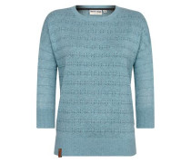 Female Knit himmelblau