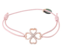 Armband 'Lucky rose' rosa