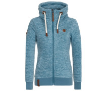 Female Fleece Jacket Redefreiheit? II blau