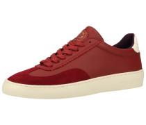 Sneaker weiß / rot / bordeaux