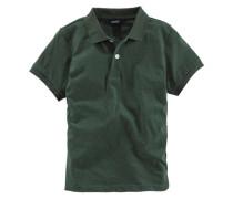 Poloshirt für Jungen grünmeliert