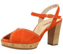 Sandale dunkelorange