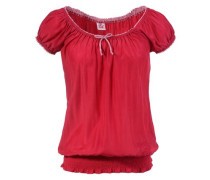 Trachtenbluse rot