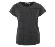 Shirt mit Perlendetails schwarz
