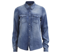 Jeanshemd 'vibista' blue denim