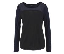 Shirt »Zweifarbig« schwarz