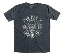 T-Shirt »Heather Fin Eat« grau