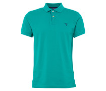 Polo-Shirt 'Rugger' blau / grün