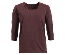 Shirt 'solveig' burgunder / schwarz
