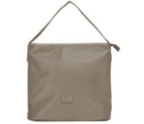 Hannah Handtasche 31 cm beige / grau