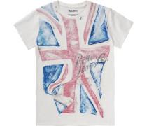 T-Shirt 'jayson' für Jungen weiß