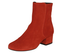 Stiefeletten 'Bootie Covered' rot