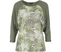 3/4-Arm-Shirt grasgrün