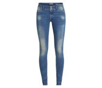 Skinny Jeans 'Rachelle' blau