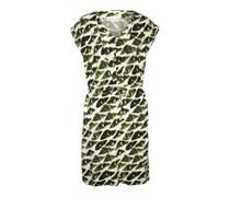 Kleid mit Tunnelzug 'Josie' grün