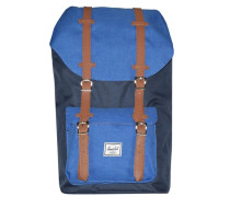 Little America 15 Backpack Rucksack 52 cm Laptopfach blau