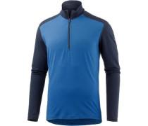 'Oasis' Langarmshirt navy / himmelblau