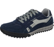 Floater Freizeit Schuhe blau