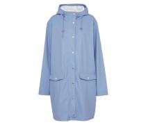 Regenmantel 'Fabiola' blau / hellblau