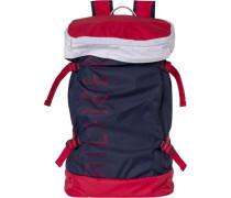Rucksack »Packable Backpack« dunkelblau / hellrot / weiß