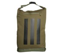 Olivgrüner Back-Pack grün