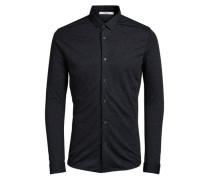 Langarmhemd Jersey grau