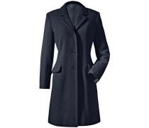 Kurz-Mantel blau