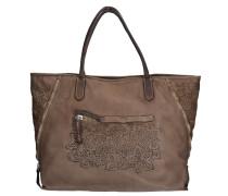 Shopper Tasche Leder 40 cm braun